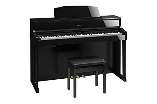 ローランド 電子ピアノ(黒塗鏡面艶出し塗装仕上げ)Roland Piano Digital HP605-PES