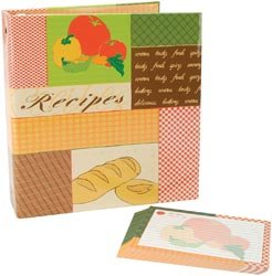 Recipes 3-Ring Scrapbook Kit