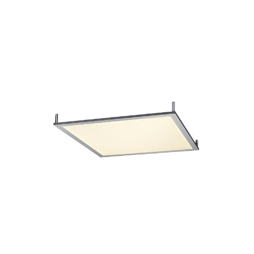 SLV LED PANEL 50W, Decken-ein/aufbau, CL 136, quadratisch,warm-weiss 595mmx595mm