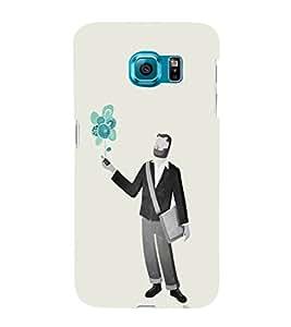 EPICCASE Imagines guy Mobile Back Case Cover For Samsung Galaxy S6 Edge Plus (Designer Case)