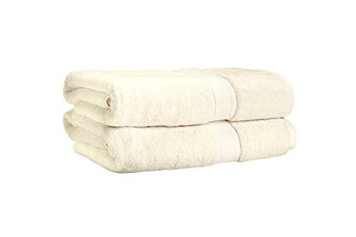 エジブト綿 900g バスタオル 2枚組、クリーム