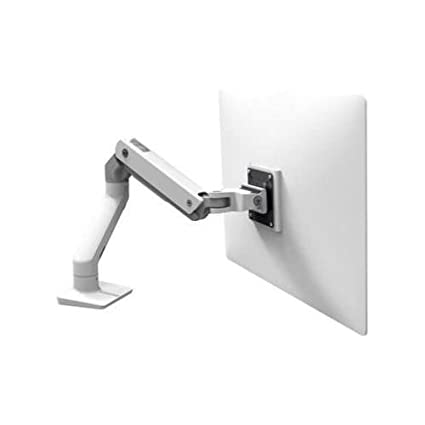Ergotron HX DESK MONITOR ARM BRIGHT WHITE - flat panel desk mounts