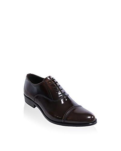 DEL RE Zapatos Oxford Marrón Oscuro
