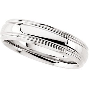 Platinum Comfort-Fit Band: Size 7