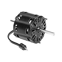 "D1101, 3.3"" Diameter, Refrigeration Fan Motor and Evaporator Coil, Larkin Coil, C.C.W. Rot., Shaded Pole, H.P. 1/20, Volts 115, Amps 1.9, RPM 1550, ""A"" Dim 2 and 3/4, Shaft Dim. 5/16 X 2 and 1/4 (AO Smith 574)"