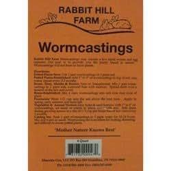 Rabbit Hill Worm Castings 4 qt. bag