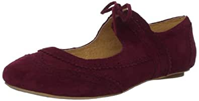 Livie & Luca Coco Mary Jane (Women),Burgundy Suede,9.5 M US Women