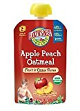 Earths Best Organic Stage 2 Apple Peach Oatmeal Fruit & Grain Puree