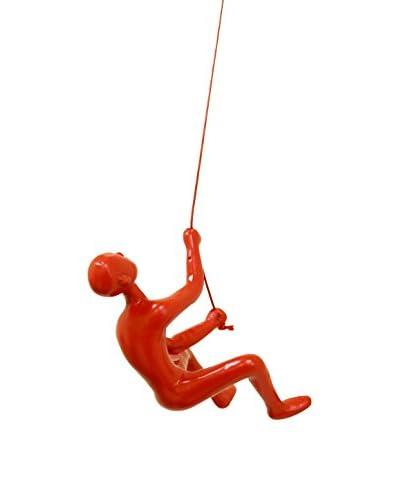Climbing Boy, Red