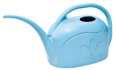 Novelty 30702 Plastic Watering Can, Sky Blue, 1-Gallon (Blue Watering Can compare prices)