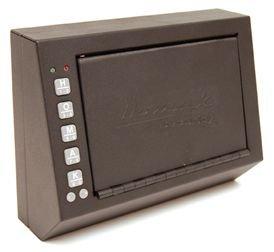 Sale!! HOMAK HS10036683 Electronic Access Pistol Box, 10 X 3.5 X 7.5 Inch