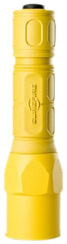 SureFire G2X Pro 6-Volt Led Dual Stage Click Style Flashlight, Yellow