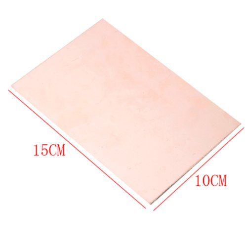 10X15Cm Single Side Pcb Copper Clad Laminate Board Fr4 1.2Mm For Diy Project
