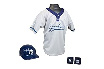 New York Yankees MLB Youth Team Uniform Set by Franklin