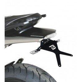 Barracuda - Portamatrículas Reclinable con Paso de rueda Honda Hornet 600 2007/2010