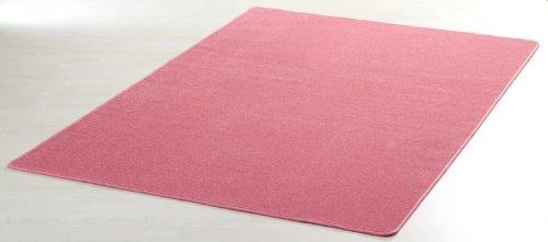 Designer Teppich Nasty Floor | Kurzflor Pink/Rosa, Größe:200×300