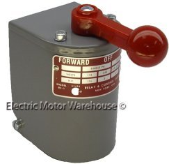 Ac electric motor 1 5 hp 2 hp electric motor reversing for Reversing switch for single phase motor