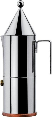 caf alessi 90002 6 la conica cafeti re espresso. Black Bedroom Furniture Sets. Home Design Ideas