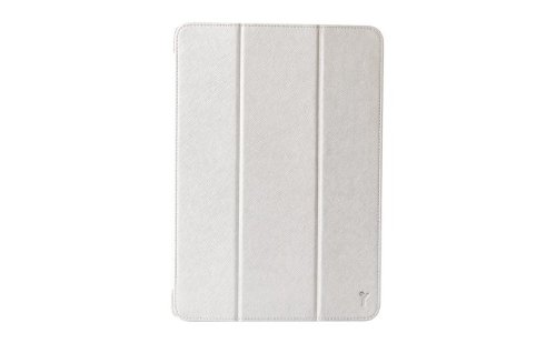 The Joy Factory SmartSuit Ultra Slim Snap On Stand/Case with Wake up/Sleep Cover for for iPad Air, CSA202 (Silver)
