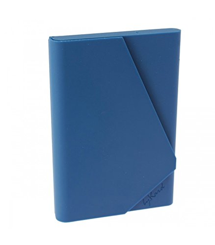 Weicher Kunststoff Karte, ältere, petrol Farbe.-blau-bykard