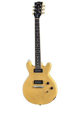 gibson lpsd15ytsn1 les paul special double cutaway electric guitar trans yellow top. Black Bedroom Furniture Sets. Home Design Ideas
