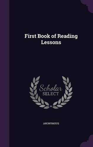 First Book of Reading Lessons