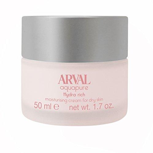 Arval Aquapure Crema Idratante per Pelli Secche - Vasetto 50 ml