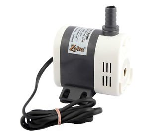 ZOLTA Khaitan Submersible Water Pump For Coolers / Fountains / Aquariums / School Projects, 40W, 2.6 Meters