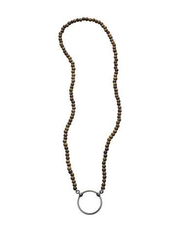 La LOOP® Peruvian Wood Bead Eyeglass Necklace - Never Lose Your Glasses Again
