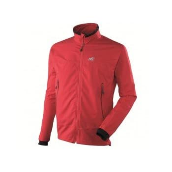 MILLET Lite switch shield stretch Veste softshell homme miv4607 rouge