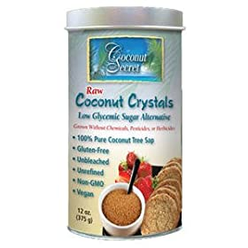 Raw Vegan Coconut Crystals-12 ozs.
