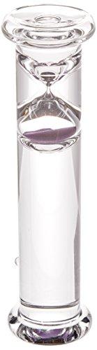 G.W. Schleidt STC8002-P Newton Gravity Glass Timer 2 Minute Purple Sand 8-Inch (Gw Schleidt Timer compare prices)