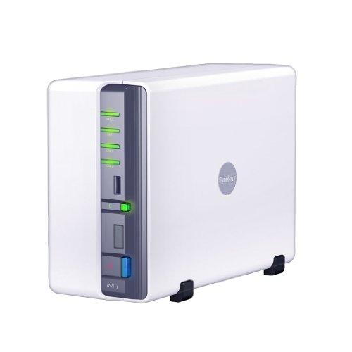 Synology DS211j 2-bay - No HDD - NAS Enclosure (No HDD Installed)