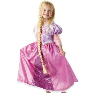 Deluxe Rapunzel Fancy Dress Costume Small 3/4