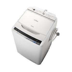 日立 7.0kg 全自動洗濯機 ホワイトHITACHI ビートウォッシュ BW-V70A-W