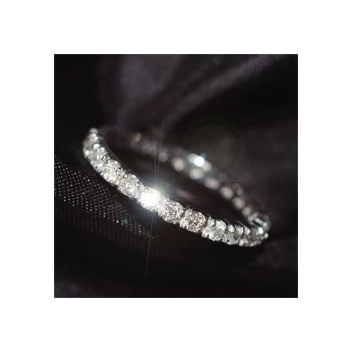 [キュートジュエリー]Cute jewerly ダイヤモンド 指輪 プラチナ ダイヤ0.5ct エタニティーリング 11