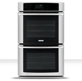 """Electrolux Ei27Ew45J 27"""" Electric Double Wall Oven With Iq-Touchtm Controls And L, Stainless Steel"""