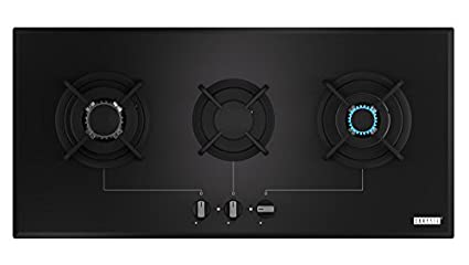 Carysil Zouk 3 Burner Built In Hob Gas Cooktop