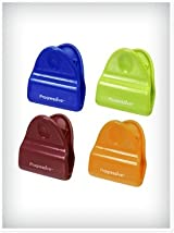 Progressive Set of 4 Mini Magnetic Bag Clips, Assorted Colors