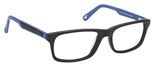 Vincent Chase VC 6468 Matte Black Blue C2 Eyeglasses(103798)