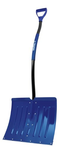 Lowest Price! Truper 34076 Aluminum Shovel, with Metal Wear Strip, Ergonomic Steel Handle with Sleev...