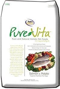 Salmon And Potato Dry Dog Food Size: 5-Lb Bag