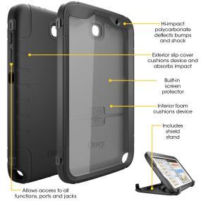 OtterBox Defender Series case for Samsung Galaxy Note 8. Samsung Galaxy Note 8 tablet case