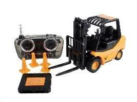 petit-chariot-elevateur-engins-de-chantier-radio-commande-pour-votre-bureau