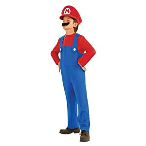 Super Mario Brothers, Mario Costume from Rubies - Domestic