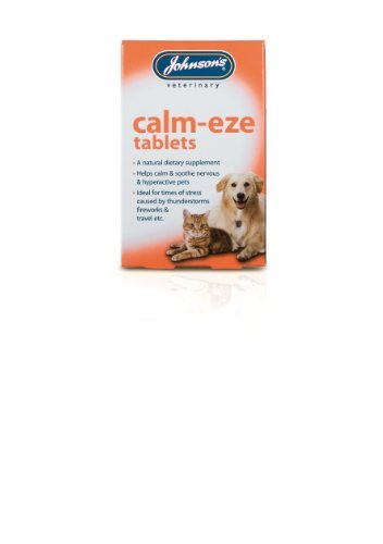 Johnsons Calm-Eze Tablets For Cats & Dogs 30G - 36 Capsules