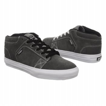 etnies Men's Sheckler 4 Skate Shoe,Grey/White,10.5 M US