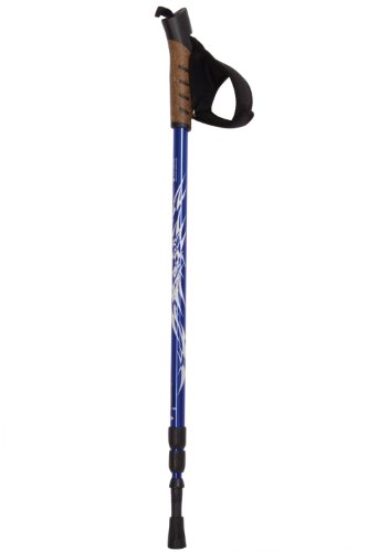 Mountain Warehouse Extreme Lightweight Compact Telescopic Hiking Walking Pole Cobalt One Size