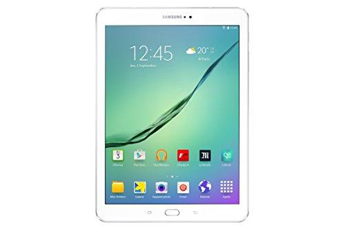 "Samsung Galaxy Tab S2 Tablette tactile 10"" Blanc (Octacore 1,9 GHz, Disque dur 32 Go, 3 Go de RAM, Android 5.0)"