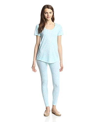 Lillianne by Aegean Apparel Women's Printed Pajamas